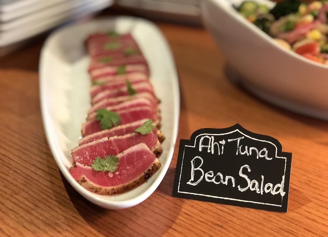 Taste Of Burlington Canyon Creek ahi tuna bean salad