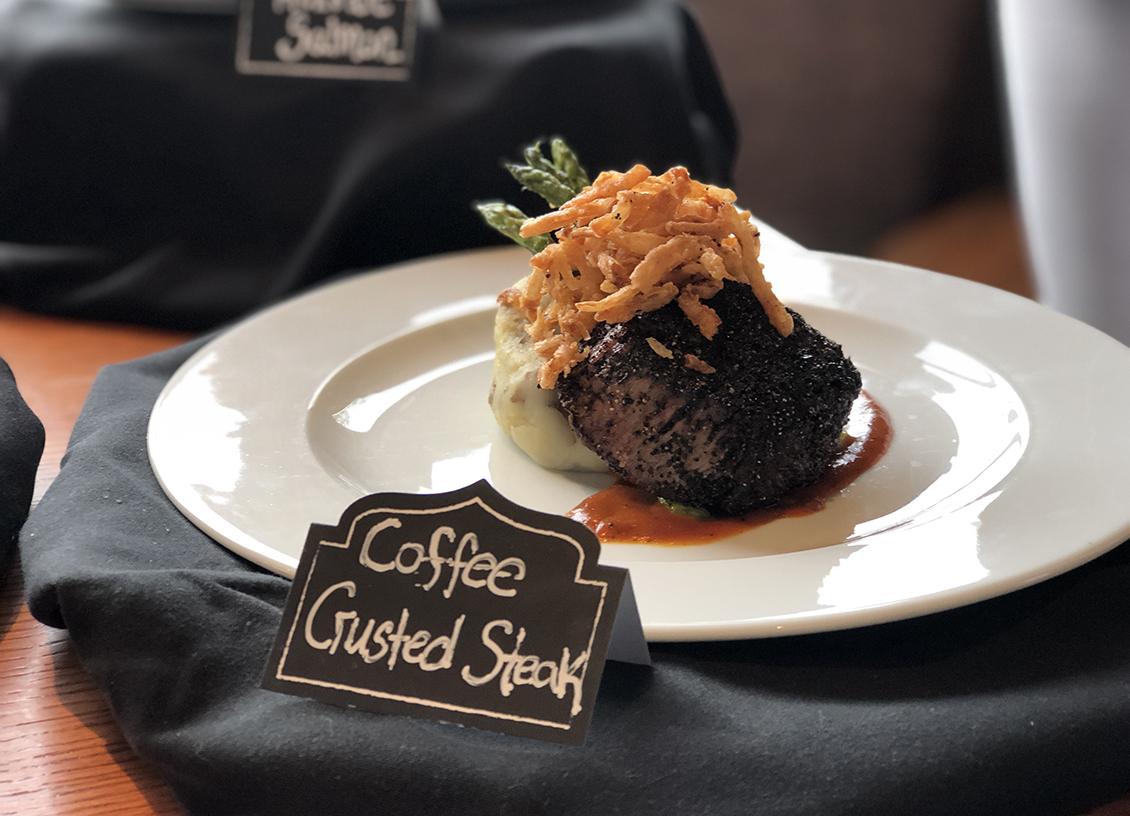 Taste Of Burlington Canyon Creek coffee crusted steak