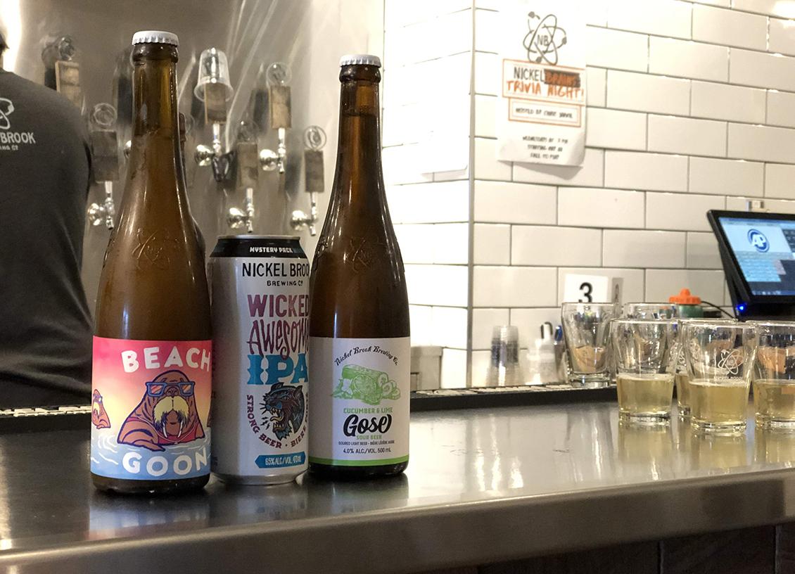 Taste Of Burlington Nickel Brook Brewing Co beer
