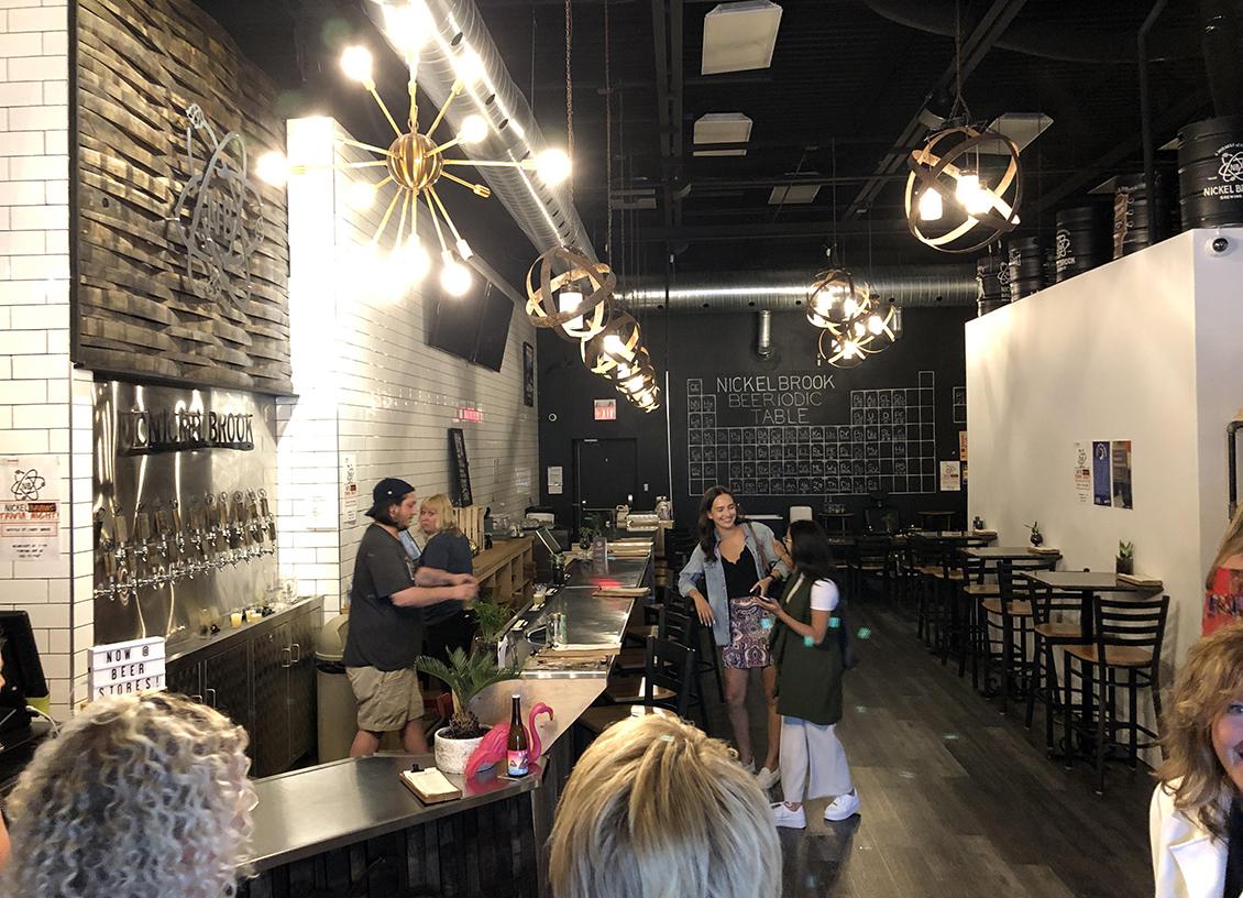 Taste Of Burlington Nickel Brook Brewing Co tap room