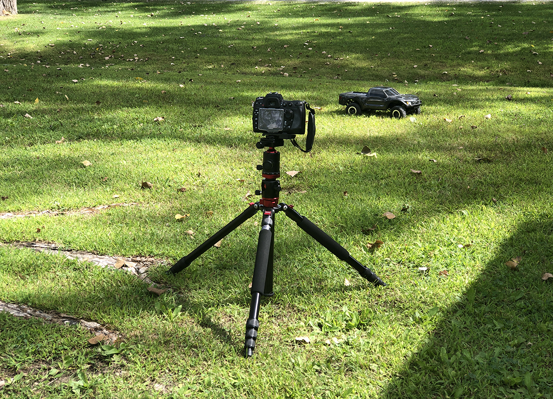 The GEEKOTO X25 Defender Professional Horizontal Tripod is a Beast!