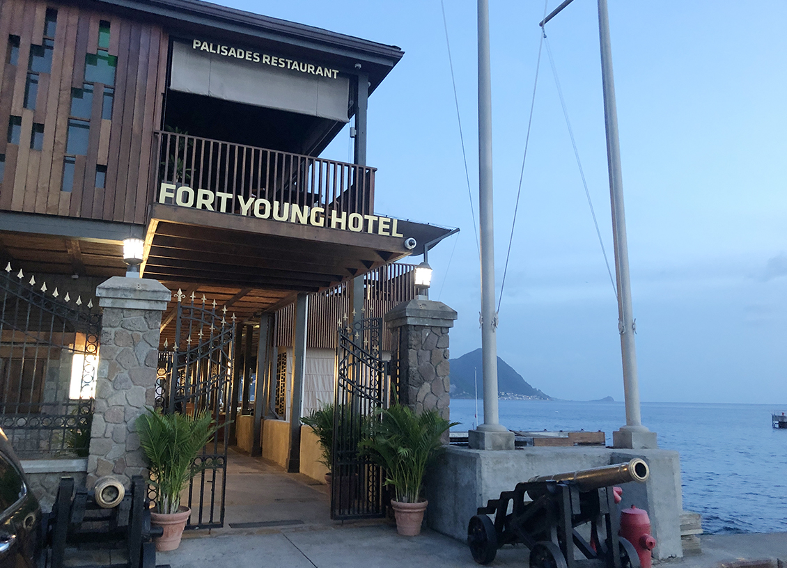 Luxury Meets History at Fort Young Hotel in Roseau Dominica. #ad #BDKDominica #DiscoverDominica