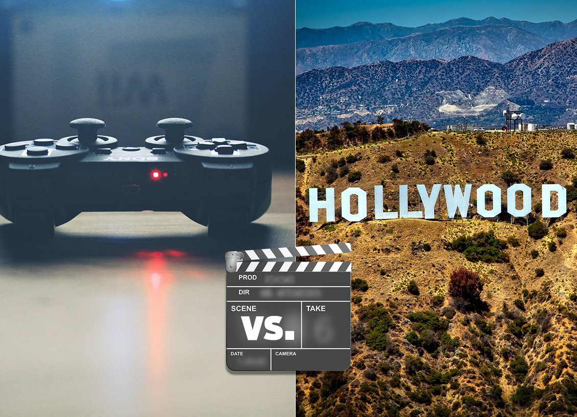 Gaming vs Hollywood: The Growth Of The Entertainment Industry