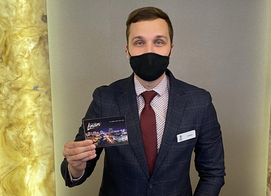 Tourism London VISA card promo